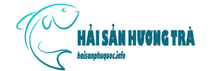 Logo vựa hải sản Hương Trà tại trang liên hệ